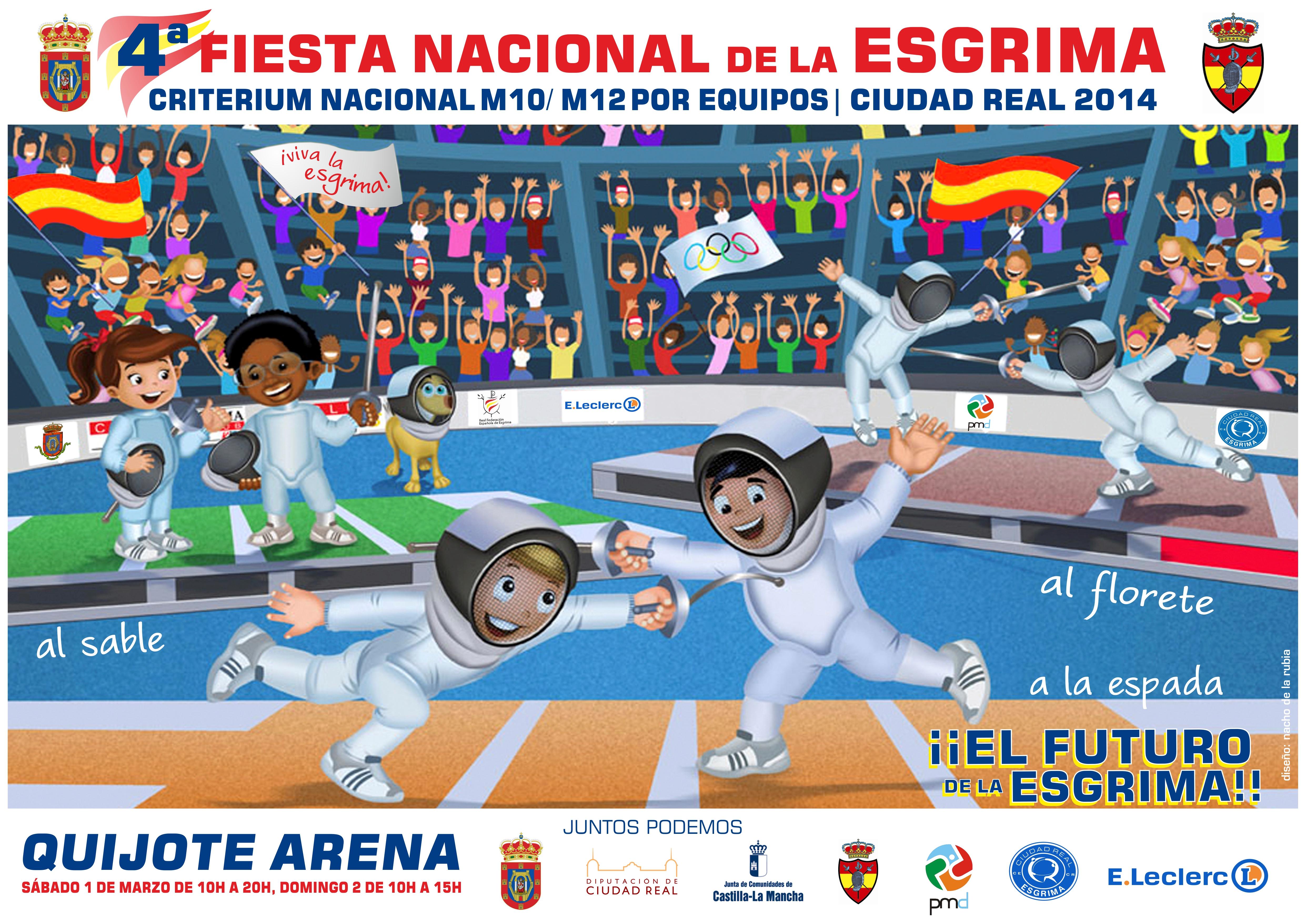 cartel fiesta de la esgrima niños FINAL