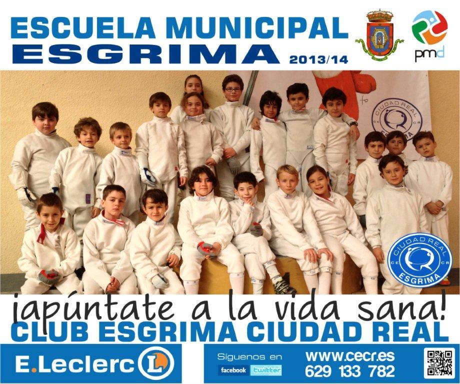 Comienza una nueva temporada en el Club Esgrima Ciudad Real. Apúntate!