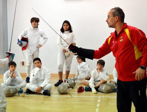 Primer Stage del Campus Esgrima Quijote 2019